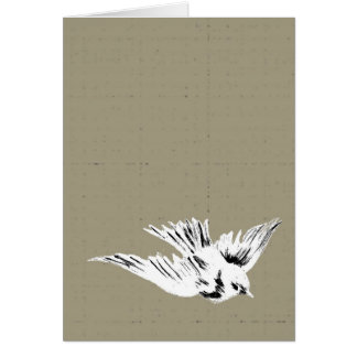 No one flies alone card
