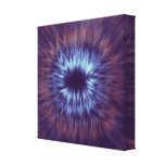 No one forever- Abstract Art Wrapped Canvas Print
