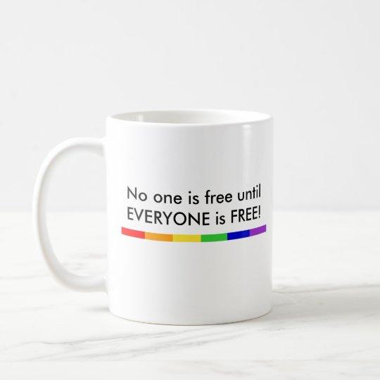 No one is FREE Mug
