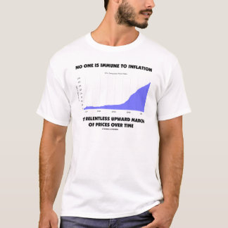 No One Is Immune To Inflation Upward March Prices T-Shirt