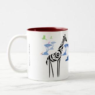 No one is like me! Two-Tone coffee mug