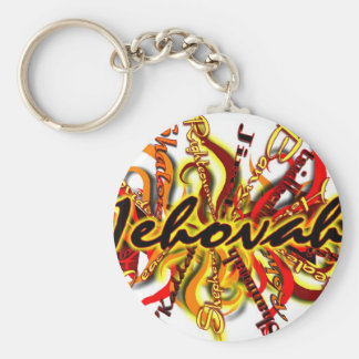 No One Like Jehovah Basic Round Button Keychain