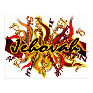 No One Like Jehovah Postcard