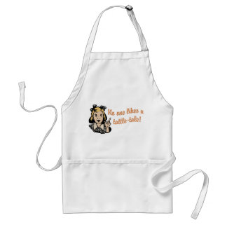 No One Likes a Tattle Tale Adult Apron