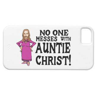 No One Messes With Auntie Christ iPhone SE/5/5s Case