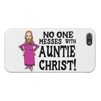 No One Messes With Auntie Christ iPhone SE/5/5s Cover