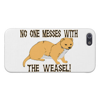 No One Messes With The Weasel Cover For iPhone SE/5/5s