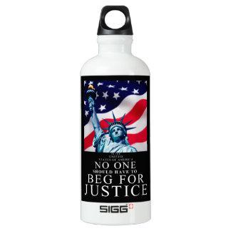 No one should have to beg for Justice SIGG Traveler 0.6L Water Bottle