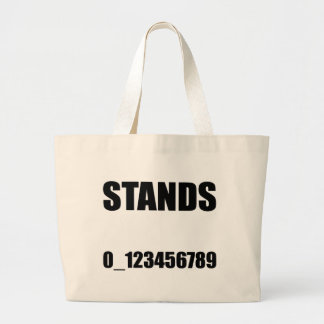 No One Under Stands Large Tote Bag