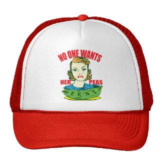 No One Wants Her Peas Trucker Hat