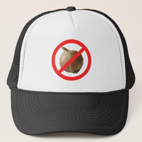 No Onion Trucker Hat