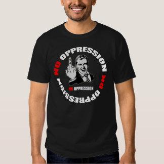 No Oppression Page Logo Tee Shirt
