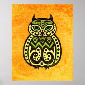 No Ordinary Owl #1, by Nayad Monroe Poster
