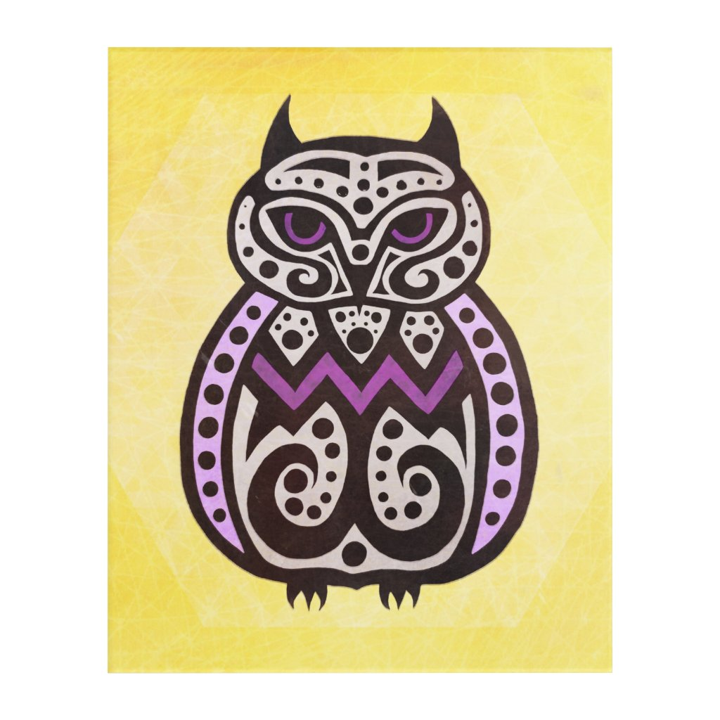 No Ordinary Owl #2, by Nayad Monroe Acrylic Print
