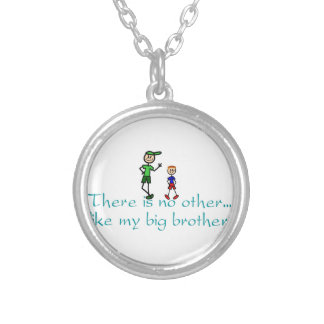 No Other Big Brother Round Pendant Necklace