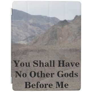 No Other Gods Before Me iPad Cover