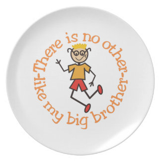No Other Melamine Plate