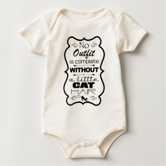 No Outfit is complete without a little Cat Hair Baby Bodysuit