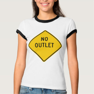 No Outlet Highway Sign T-Shirt