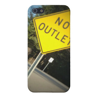 No Outlet IPhone case