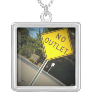 No Outlet necklace