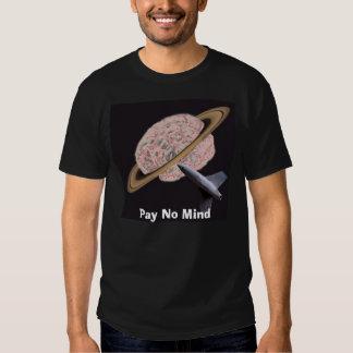 No pague ninguna camiseta de la banda de la mente playera