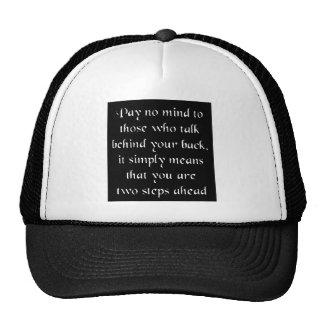 No pague ninguna mente gorros