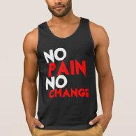No pain No change Tanktop