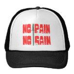 No pain No gain Cap