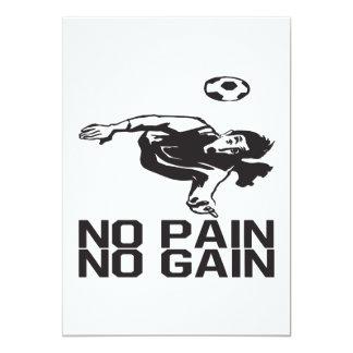 No Pain No Gain Card