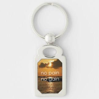 No Pain, No Gain.... Keychain
