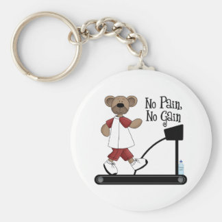No Pain No Gain Keychain