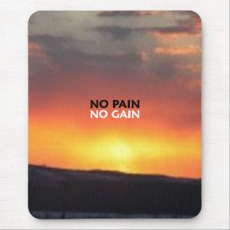 No Pain No Gain Mouse Pad