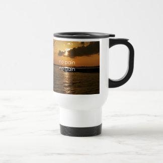 No Pain, No Gain.... 15 Oz Stainless Steel Travel Mug