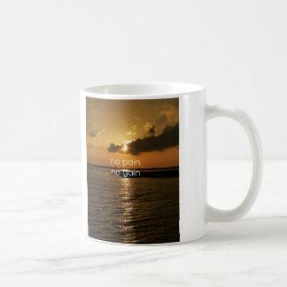 No Pain, No Gain.... Classic White Coffee Mug