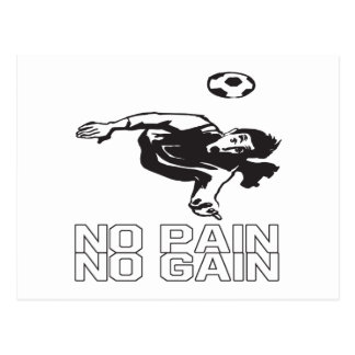 No Pain No Gain Postcard