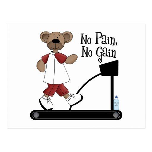 No Pain No Gain Postcards