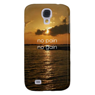 No Pain, No Gain.... Samsung Galaxy S4 Cover