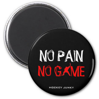 NO PAIN NO GAME MAGNET