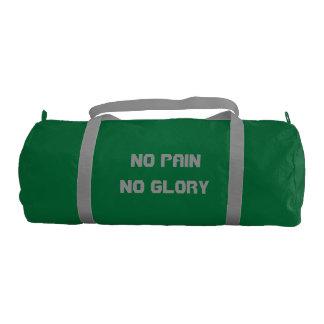No Pain, No Glory Duffle Bag