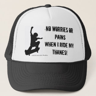 No Pain Thanes Trucker Hat