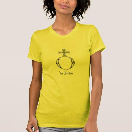 No Panties Symbol T-Shirt