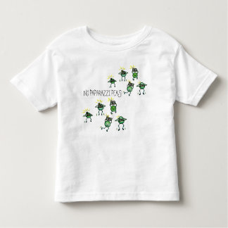 No Paparazzi Peas, Scattered tee