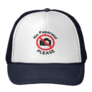 No Paparazzi Please - Almost Famous Trucker Hat
