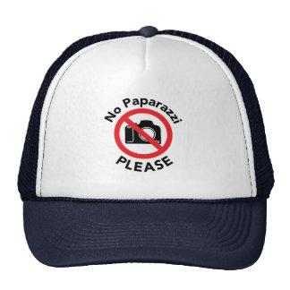No Paparazzi Please - Almost Famous Trucker Hat