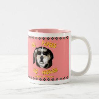 No Papers No Problem  Mug