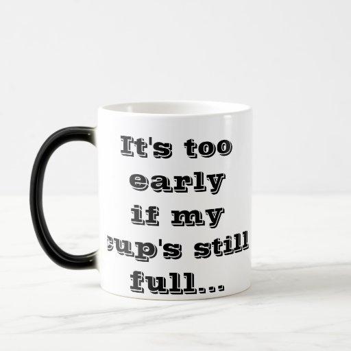 no para arriba taza