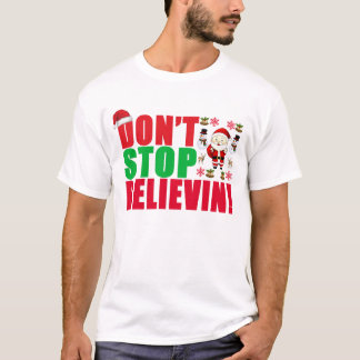 NO PARE BELIEVIN. .png Playera