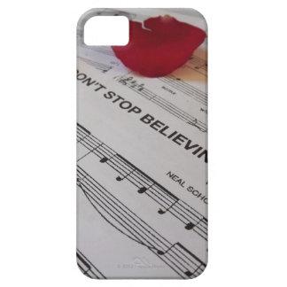 """""""No pare el caso del iPhone 5 del Believin'"""" iPhone 5 Funda"""