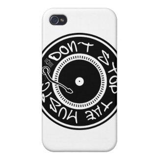 NO PARE LA MÚSICA iPhone 4/4S CARCASAS
